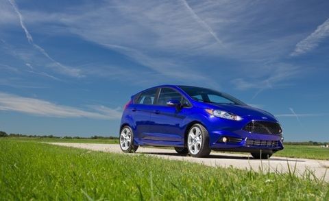 ¡Feisty Fiesta! Ford Eyeing Spicy, ST-Topping Fiesta RS Model