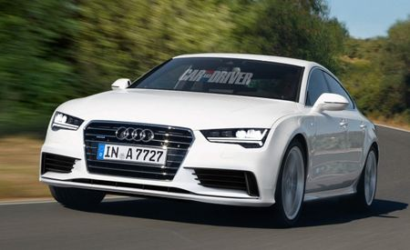 2015 Audi A7 Rendered: The Four-Rings Brand's Mid-Size Four-Door Coupe Gets a Refresh This Summer