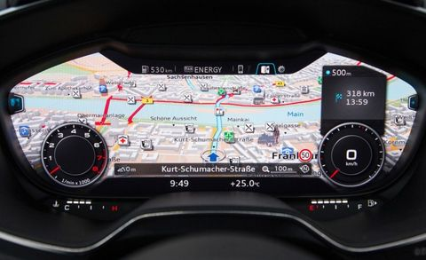 New Audi TT's Gauge Cluster Will Spread to Three Other Models by 2015