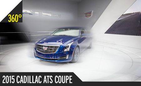 2015 Cadillac ATS Coupe 360º Photos: You Spin It Right Round, Baby, Right Round [2014 Detroit Auto Show]