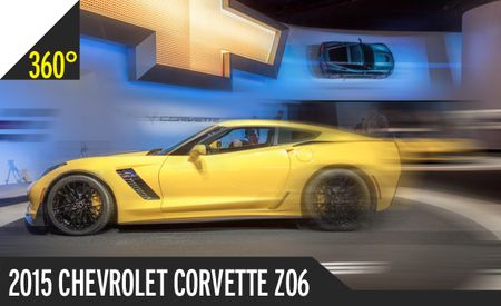 2015 Chevrolet Corvette Z06 360º Photography: Holy Hell, This Thing Looks Downright Nasty [2014 Detroit Auto Show]