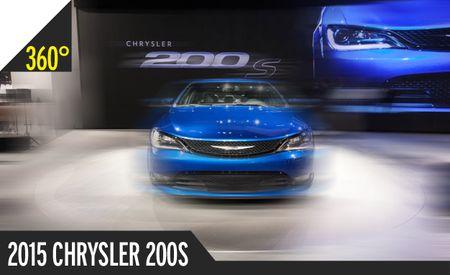 2015 Chrysler 200 Sedan: 360º Photography of a Detroit Doll [2014 Detroit Auto Show]