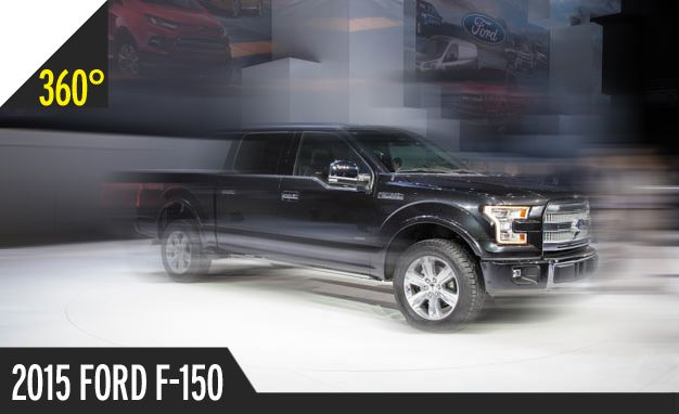 2015 Ford F-150: 360º Photos of the All-New Aluminum Giant [2014 Detroit Auto Show]