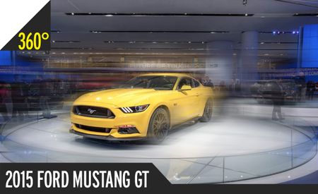 Motown Filly: The 2015 Ford Mustang Is Here, and We Have 360º Photography [2014 Detroit Auto Show]