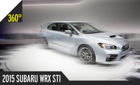 2015 Subaru WRX STI: 360º Photography of a Rally-Happy Hooligan [2014 Detroit Auto Show]