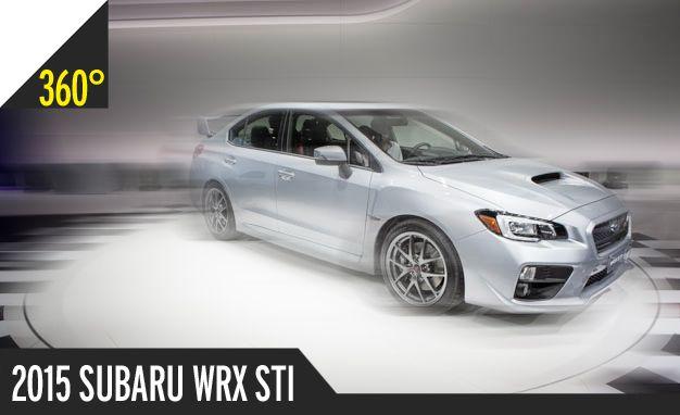 2015 Subaru WRX STI: 360º Photography of a Rally-Happy Hooligan [2014 Detroit Auto Show]