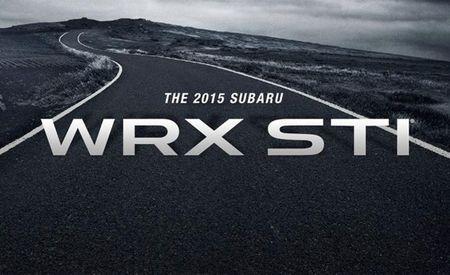 Rallying Cry: 2015 Subaru WRX STI to Bow in Motor City [2014 Detroit Auto Show]
