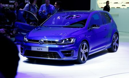 America's 2015 Volkswagen Golf R Is Slightly Neutered and Available With an Automatic [2014 Detroit Auto Show]