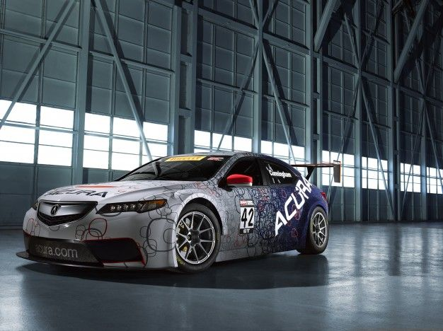 Acura TLX Is Still in Concept Form, but TLX GT Is Ready for the Racetrack [2014 Detroit Auto Show]