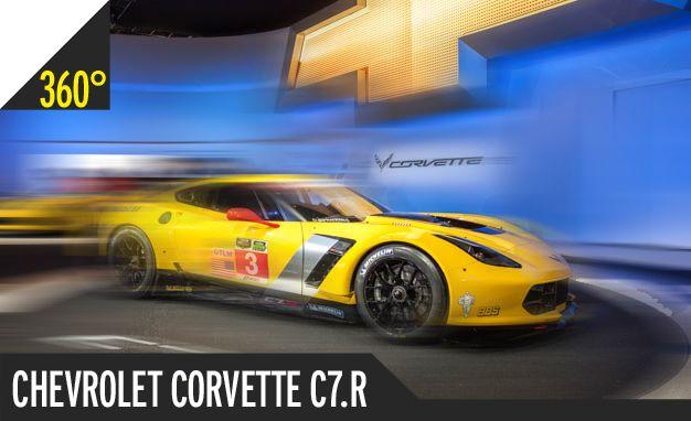 Chevrolet Corvette C7.R: 360º Photography of the Most Hellacious Vette Racer Yet [2014 Detroit Auto Show]