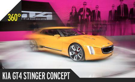 Kia GT4 Stinger Concept: 360º Photos of a Car Kia Needs to Build Now [2014 Detroit Auto Show]