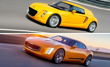 Kia GT4 Stinger Concept Looks Like Show Car from Volkswagen's Past