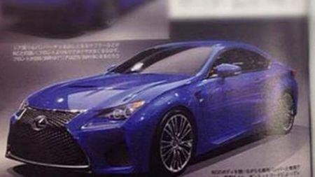 Lexus RC F Image Leaked Ahead of Debut [2014 Detroit Auto Show]