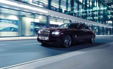 Rolls-Royce Ghost V-Specification: Putting Other Vs to Shame