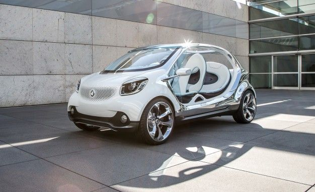 Mercedes Won't Sell Four-Seat Smart in the U.S.—For The Time Being