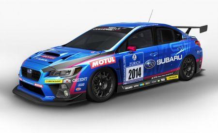 Presenting the 2015 Subaru WRX STI . . . in 24 Hours Nürburgring Race-Car Form!