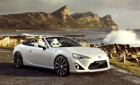 Toyota Investigating GT 86 (Scion FR-S) Convertible, But Don't Expect It Any Time Soon