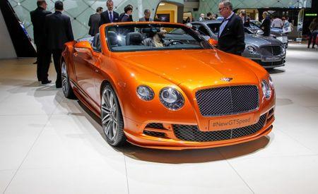 A Speedier Bentley Continental GT Speed for 2015 [2014 Geneva Auto Show]