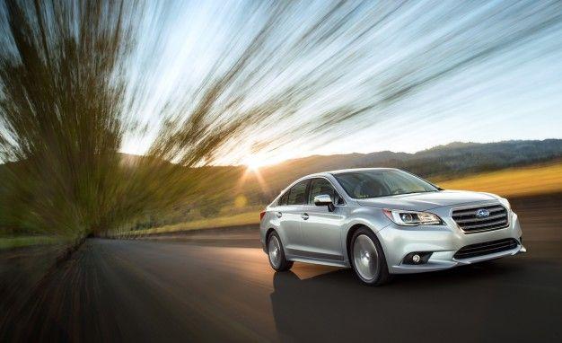Freshly Unveiled 2015 Subaru Legacy: New Turbo Sport Model, Downsized Six-Cylinder in the Works