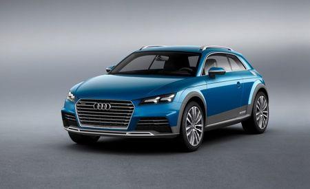 Audi Considering Building TT Shooting Brake Variant Modeled After Detroit Concept