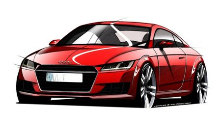 These Sketches Will Come to Life When the Audi TT Debuts in Geneva [2014 Geneva Auto Show]