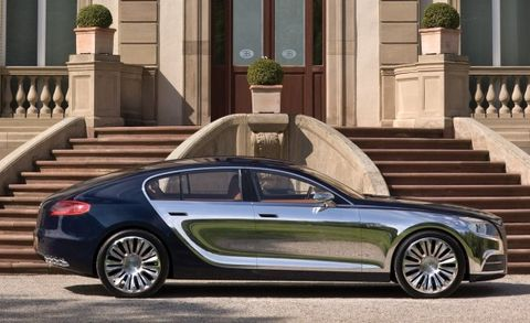 "Bugatti Definitively Kills Galibier Sedan Project, Says It Would ""Confuse"" Its Customers"