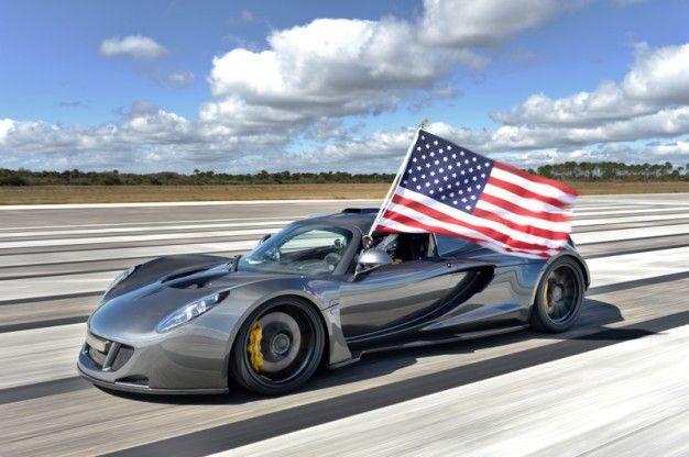 It Ain't Over, Bugatti: Hennessey Venom GT Does 270.49 mph, Claims World Record