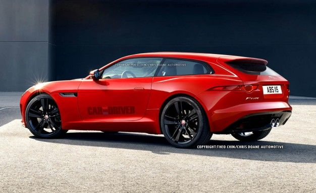 WARNING: These Jaguar F-type Shooting Brake Renderings May Stop Your Heart