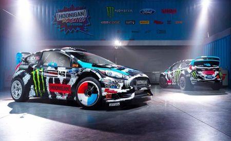 Ken Block's Rallycross/WRC/Gymkhana Ford Fiestas Get Bitchin' New Liveries