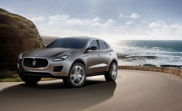 Arrivederci, Grand Cherokee: Levante SUV to Be Built on Maserati Platform