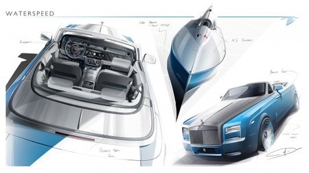 Rolls-Royce Previews Waterspeed Collection Drophead Coupes, We Wonder What Kevin Costner Is Doing Right Now
