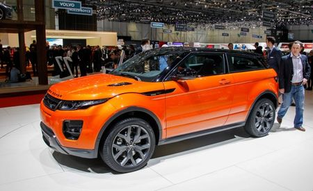 Choose Your Own Power Adventure: Pricey Range Rover Evoque Autobiography Models Announced [2014 Geneva Auto Show]