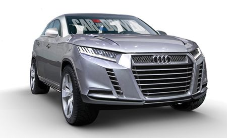 Audi's Upcoming Q8 Crossover: Sleek and Possibly Electrifying