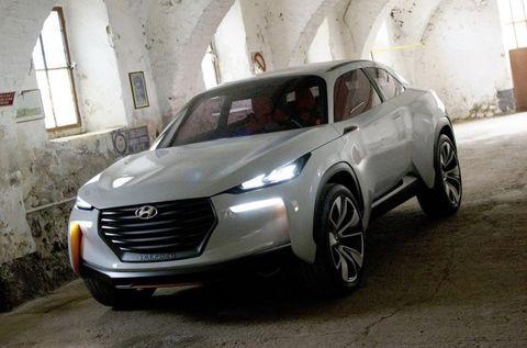 Hyundai Intrado Concept Images Slink Out Ahead of Geneva [2014 Geneva Auto Show]