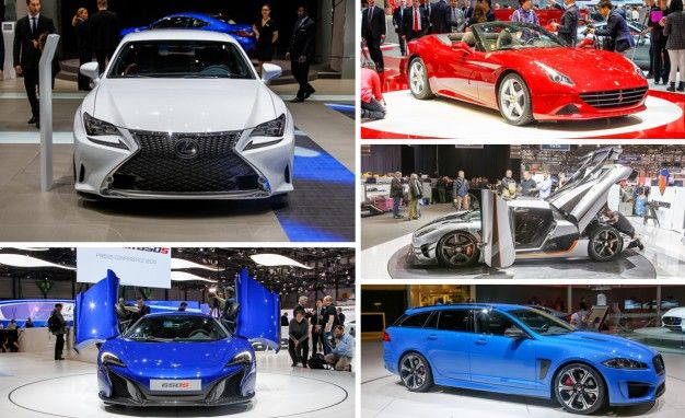 10 Hottest Debuts of the 2014 Geneva Auto Show: Sports Cars, Hot Hatches, and More!