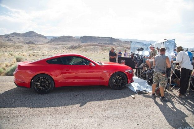 View Photos How Ford Snuck The 2015 Mustang Into Need For Speed Before It Was Public
