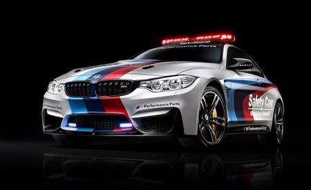 Mmm MotoGP M Car: BMW Adds M4 Coupe to 2014 MotoGP Safety Car Roster