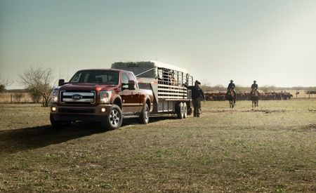 2015 Ford Super Duty Power Stroke Diesel Output, Tow Ratings Revealed: 440 hp, 860 lb-ft, 31,200 Pounds