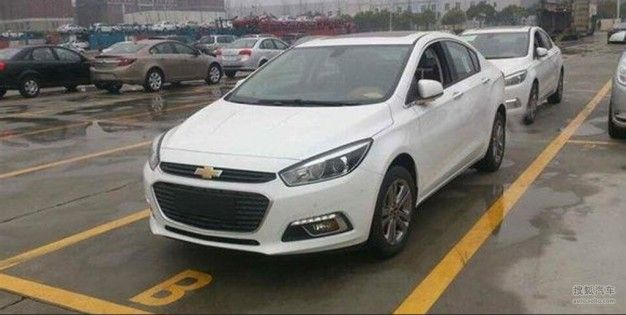 2016 Chevrolet Cruze Spied—But Don't Get Too Excited, This One's for China