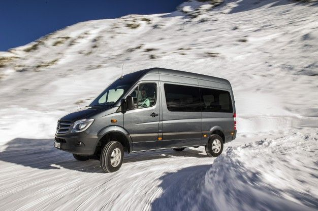 Mercedes-Benz to Offer Lifted Sprinter 4×4—and it's Coming to the U.S.