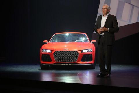 Q&A: Audi R&D Chief Hackenberg on R8 e-tron, New V-engines, Next-Gen Q7, Italdesign, Autonomous Driving, and More