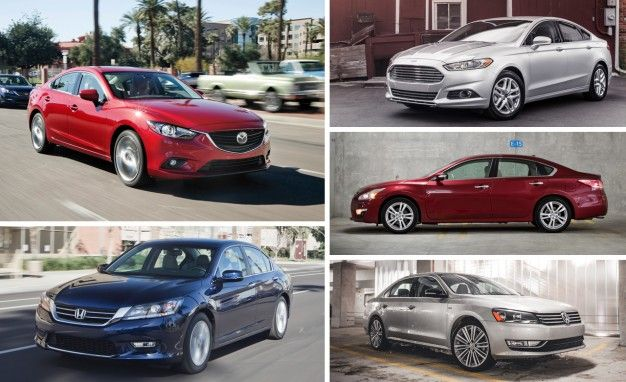 Delightful View Photos The 5 Best Family Sedans You Can Buy Right Now