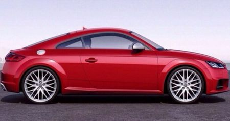 2015 Audi TT—That's the New One—Leaks Ahead of Today's Debut
