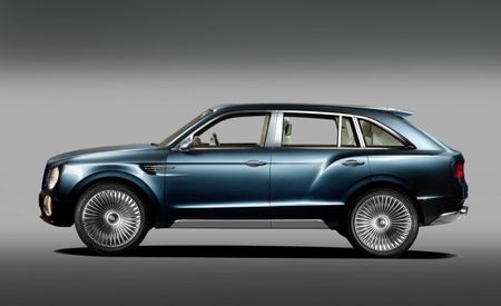 Bentley Wants SUV to Reach 200 mph