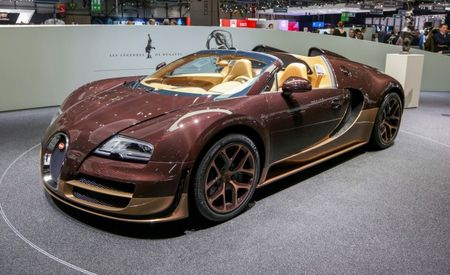 Bugatti Veyron Rembrandt Legends Edition: What to Buy When a Standard Veyron Is Too Ubiquitous [2014 Geneva Auto Show]