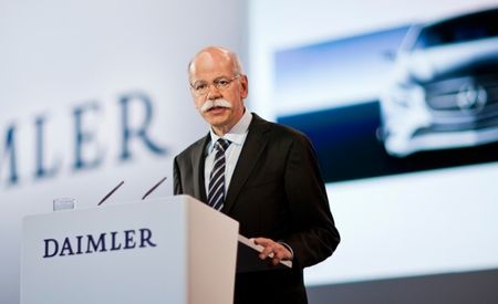 Riding Shotgun with Dr. Z: 15 Minutes with Daimler CEO Dieter Zetsche