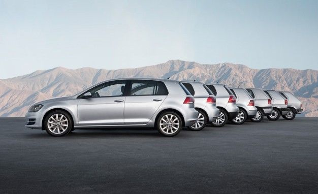 Forty Years a Golf: A Pictorial History of VW's Compact Hatch
