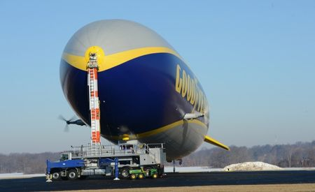 How to Park a Blimp (Zeppelin!): Docking Goodyear's Massive Airship