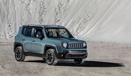 First Images of 2015 Jeep Renegade Leak—It's Small, and We Dig It