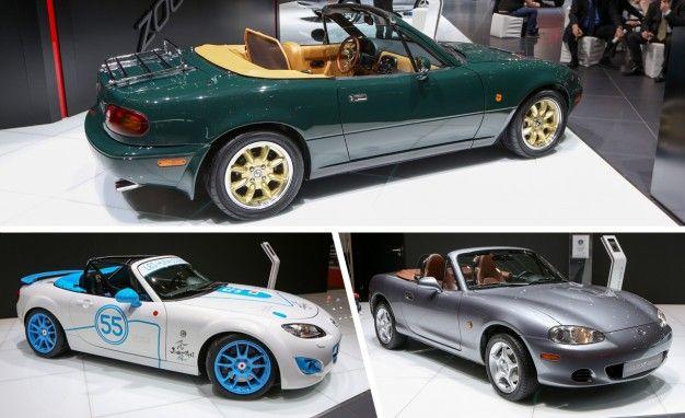 Miatathon: Mazda's Iconic Roadster Marches Toward Silver Anniversary [2014 Geneva Auto Show]